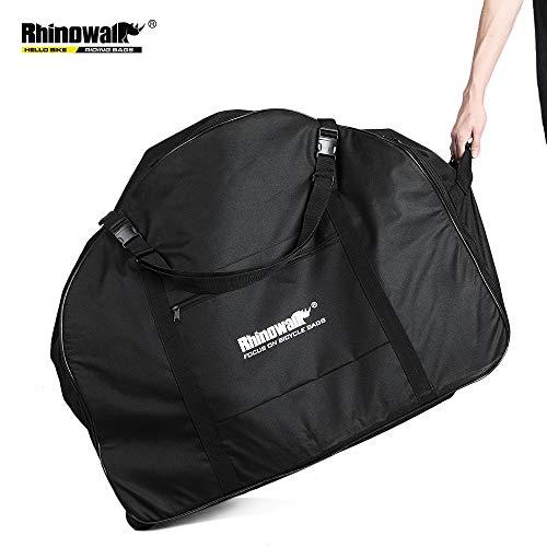 """SHINYEVER Faltrad transporttasche für Fahrrad mit Rädern Fahrrad Reisetaschen Fahrrad Transport Abwahrungstasche für 20\""""- 22\"""" Faltrad"""