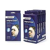 6 paquetes de Migra Cool, parches para las migrañas y dolores de cabeza.