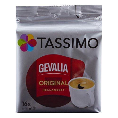 Tassimo Gevalia Original Mellanrost, Kaffee, Arabica, Kaffeekapsel, Gemahlener Röstkaffee, 80 T-Discs (80 Portionen) (Kaffee Gevalia T-discs)