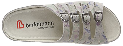 Berkemann Hassel, Mules Femme Mehrfarbig (Grau/kolibri)