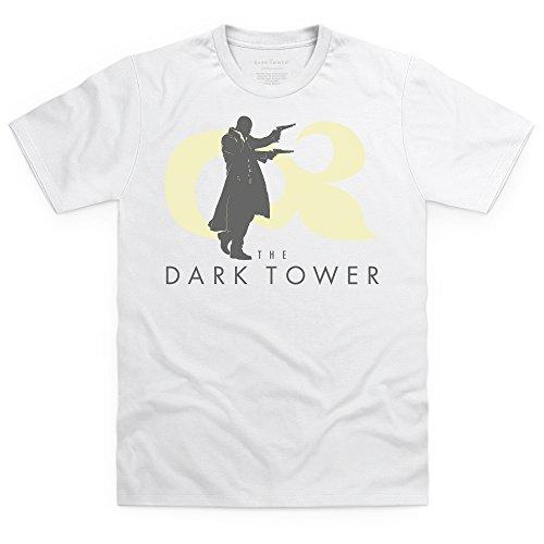 Official The Dark Tower Roland Shoots T-Shirt, Herren Wei