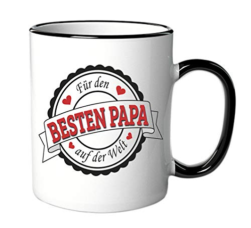 Tasse Für den besten Papa der Welt - Geschenk - Vater - Vatertag