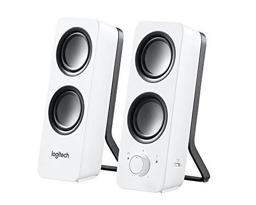 Logitech Z200 Speaker - Snow White