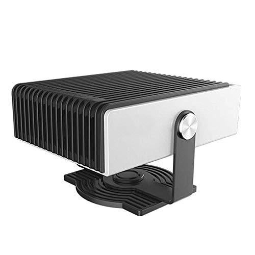 WANYIG Calefacci/ón para Coche Port/átil 12V Gris 150W Calefactor con Ventilador Calentador con Ventilador de Fr/ío//Calo para Coche con 360 /° Ajustable y Cable 1.5M