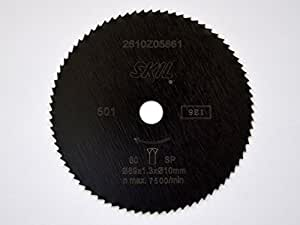 Skil scie circulaire d 89 mm x 10 mm 80 dents