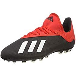 Adidas X 18.3 AG J, Botas de fútbol Unisex Adulto, 000, 38 2/3 EU