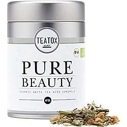 TEATOX Pure Beauty, Té blanco orgánico con hierbas (Lata)