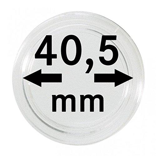Lindner 2251405 Münzkapseln 40,5 mm-100er Pack