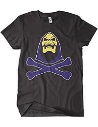 He Man T Shirt He-Man 80s Cartoon Skeletor T Shirt Skeletor_Skull_Bones_Black