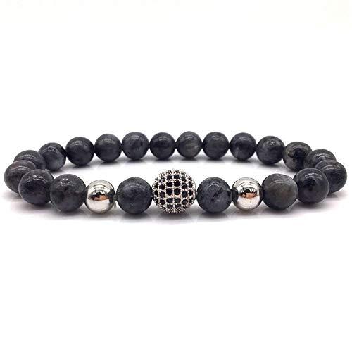 Armband Armreif,Schmuck Geschenk,Fashion New Mens Beads Bracelet Classic Fashion Bead Charm Bracelets & Bangles for Men Fahion Jewelry Gift (Brighton Schmuck-box)