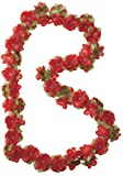 Basil Blumengirlande Flower Garland, Red, One Size, 50184