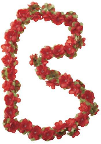 Basil Blumengirlande Flower Garland Girlande, Red, One Size - Flower Red Garland