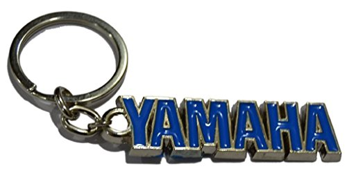GCT Yamaha Logo Metal Keychain | Keyring | Key Chain for Bike Keys | for Men Women Boys Girls | for Saluto Fascino Alpha Cygnus Ray Z FZ FZS FZ25 Fazer FI YZF R1 R15 MT-09 SZ-RR V Max (Blue/Silver)  available at amazon for Rs.189