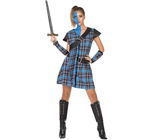 ATOSA 53929 Schottin Kostüm für die Dame Costume -