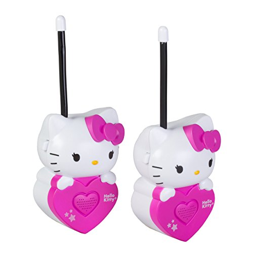 Sakar 54009-INT - Hello Kitty molded Walkie Talkie