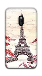 The Racoon Grip love hard plastic printed back case / cover for Nokia Lumia 620