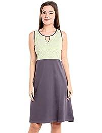 58967776058 Valentine Women Short Nighty - Knee Length Nighties - Cotton Hoseiry  Material Nightgown and Sexy