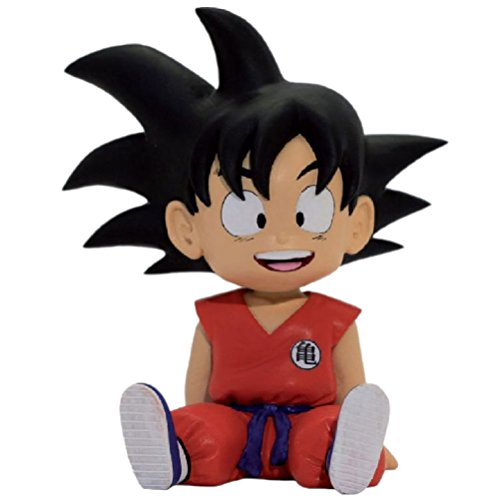 Dragonpro 599386031 - Dragon Ball Moneybox - Sitting Goku (13,5cm)