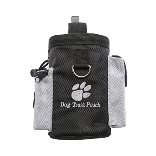 (Masterein Haustier Hund Treat Pouch Dog Training Treat Bauchtaschen Abnehmbare Hündchen-Haustier-Feed Tasche Welpen Snack Hüfttasche)