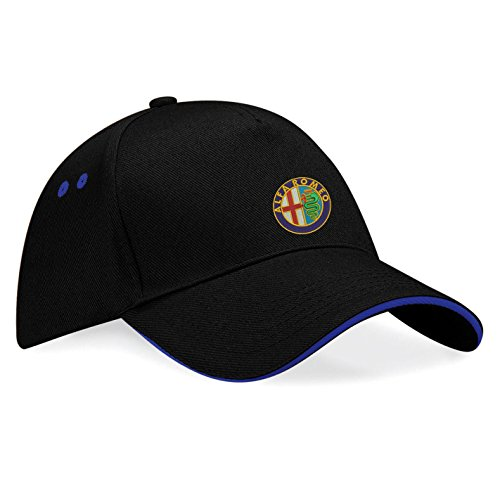 avstickerei-cappellino-da-baseball-uomo-nero-blu-taglia-unica