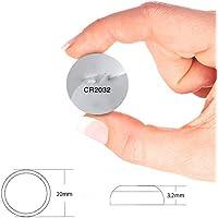 MJL Botón de la batería CR2032 balanza electrónica de Control Remoto Llave del Coche 5 Piezas de batería Universal botón,Batería del Bot,CR2032