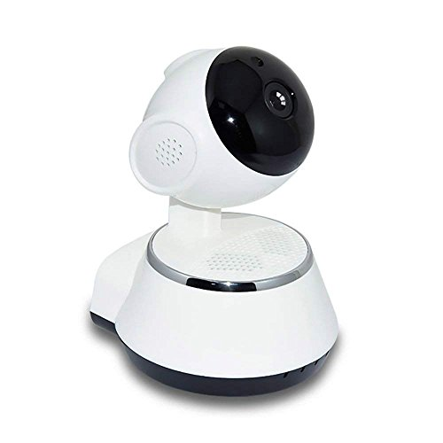 PowerLead 1080P WiFi Hundüberwachungskamera mit Zweiwegaudio, Bewegungs-Abfragung, Pan/Tilt, 2.4Ghz Drahtlose IP Überwachungskamera für Baby- / Ältest- / Haustier-Katze-Überwachung (IP-Kamera)