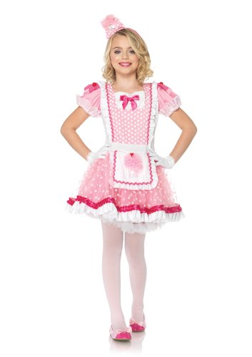 Cupcake Kinder Kostüm - Leg Avenue C48194 - Cupcake Kostüm Set, Größe S, rosa