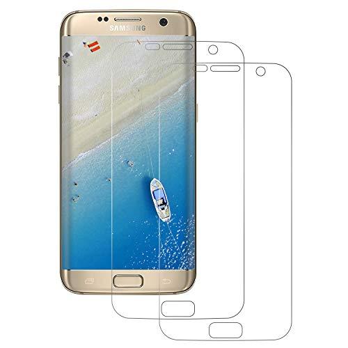FayTun [2 Stück] Schutzfolie Kompatibel für Samsung Galaxy S7 Edge Ultra-klar,9H Härte,Anti-Fingerabdruck,Anti-Bläschen, Bildschirmschutz Galaxy S7 Edge(Nicht Panzerglas)
