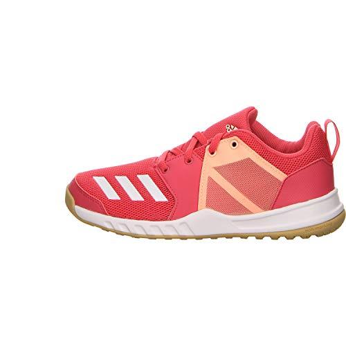 adidas Unisex-Kinder FortaGym Fitnessschuhe, Mehrfarbig (Magrea/Ftwbla/Narcla 000), 36 EU
