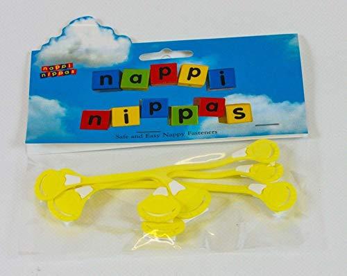Nappi Nippas Windelverschlüsse-Blau 3Pack | Alternative zu Pins -
