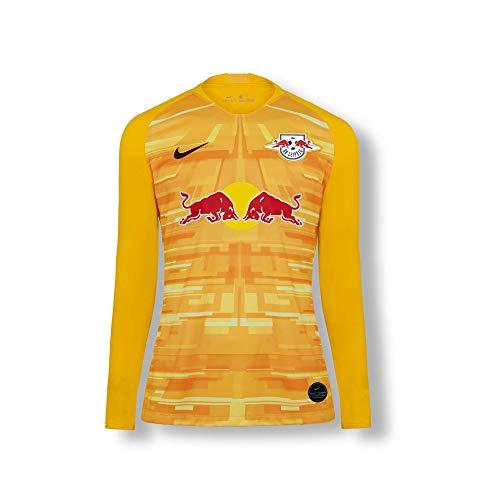 RB Leipzig Goalkeeper Trikot 19/20, Gelb Youth Medium T Shirt, RasenBallsport Leipzig Sponsored by Red Bull Original Bekleidung & Merchandise