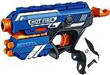 #8: Bighub Blaze Storm Manual Soft Bullet Gun with 10 Foam Bullets Included (Multicolour, Bighub_66)