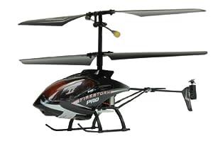 Amewi 25097 Firestorm Pro - Helicóptero teledirigido (frecuencia de 2,4GHz, 3 Canales, giroscopio, tamaño pequeño)
