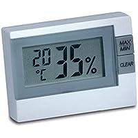 TFA Dostmann Digitales Thermo-Hygrometer, 30.5005, zur Raumklimakontrolle