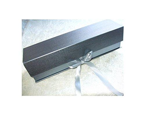 Wandtattoo Loft Aufbewahrungskarton f/ür Patenkerze 17 x 7 cm aus praktischem Holzkarton mit St/ülpdeckel Kerzenbox Kerzenkarton