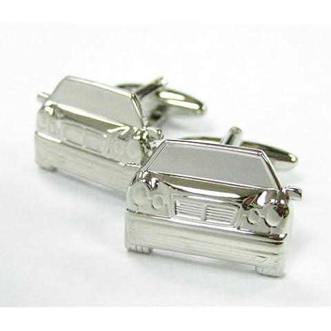 Brillante Coche de plata Gemelos Automotriz