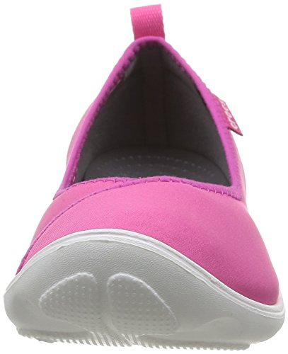 Crocs Duet Busy Day W, Ballerine Donna Rosa (Candy Pink/White)