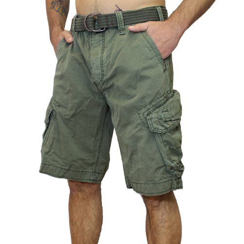 Jet Lag Shorts Take off 3 kurze Hose in charcoal cement schwarz olive camouflage Olive