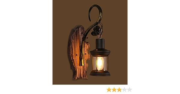 Lina muro industriale vintage applique lampada plafoniera per casa