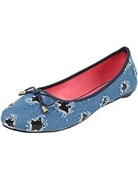 Catwalk Blue Ballerina for Women
