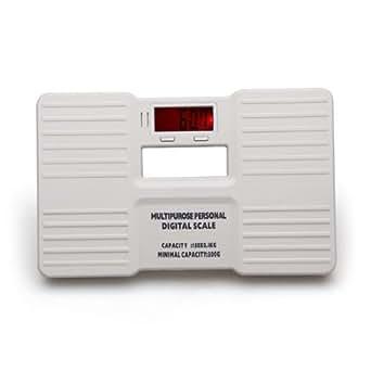 0.3-150kg LCD Balance Pèse Personne Peson Numérique Electronique Blanc