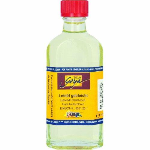 SOLO GOYA Leinöl gebleicht Fl. 125 ml