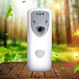 Zhuowei Deodorante per Ambienti Ideale con distributore Automatico di Profumo per Ambiente, distributore di Profumo per Spray per Ambiente, Automatico, fissato al Muro,Bianca