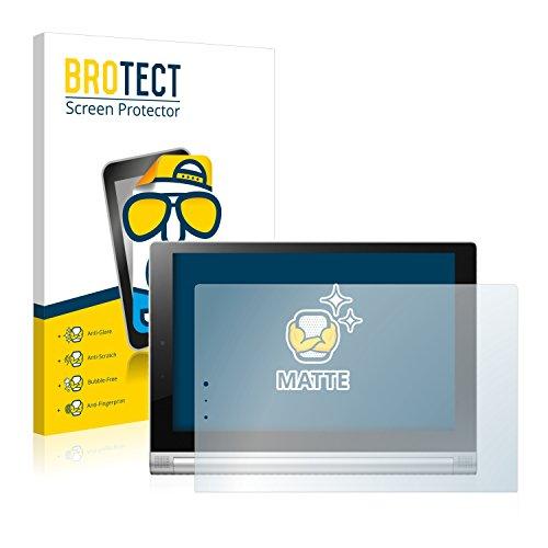 BROTECT Entspiegelungs-Schutzfolie kompatibel mit Lenovo Yoga Tablet 2 10.1 2-1050L (2 Stück) - Anti-Reflex, Matt