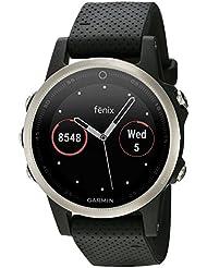 Fēnix 5S Silver avec Bracelet Noir - Montre GPS Multisports Outdoor