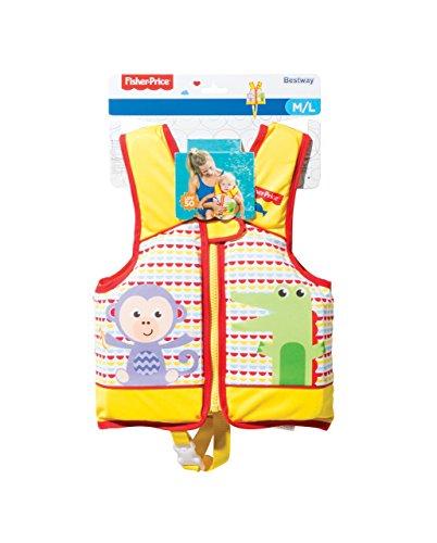 Bestway Fisher-Price Schwimmlernweste, mit Textilbezug, sortiert
