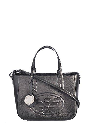 Emporio Armani Eagle Logo Donna Handbag Metallico Metallico