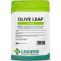 Lindens Olivenblätter-Extrakt Tabletten | 60 Verpackung | 450 mg standardisierter Extrakt für 27 mg Oleuropein... preisvergleich bei billige-tabletten.eu