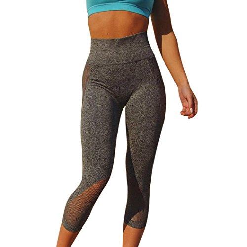 Leggings SANFASHION Damen Pants Fitness Lauf Gym Yoga Sportlich Sporthosen Hosen