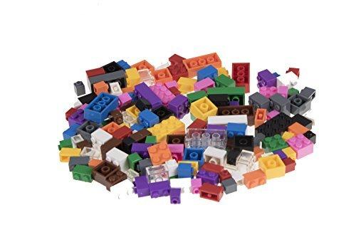 Strictly Briks - costruzioni classiche - set di mattoncini per costruzioni - 100% compatibile con tutte le principali marche - 4 diverse forme e dimensioni - mattoncini ad incastro in 12 vivaci colori - 216 pezzi